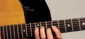 Play A7 arpeggio in 9th position on acoustic guitar