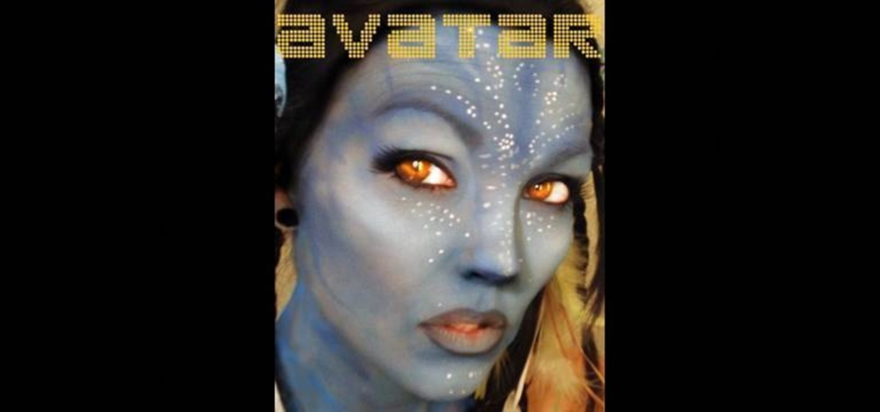 how to create a neytiri avatar makeup look makeup wonderhowto