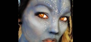 Create a Neytiri Avatar makeup look