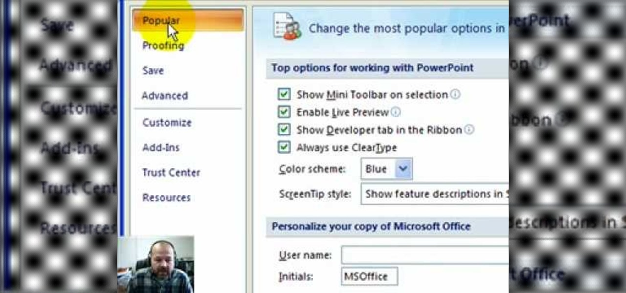 how to add youtube to powerpoint 2007