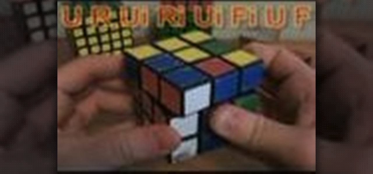 How to Solve the Rubik's Cube with algorithms « Puzzles :: WonderHowTo