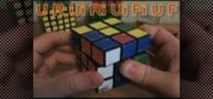 Solve the Rubik's Cube with algorithms