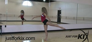 Do an Arabesque in ballet
