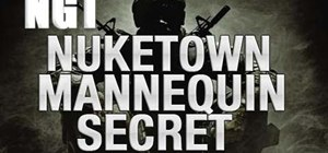 Get the Nuketown mannequin secret in Call of Duty: Black Ops