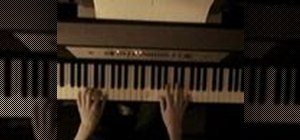 Play a Jerry Lee Lewis style riff on the piano