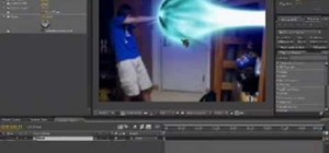 Create a Kamehameha (energy blast attack) from Dragon Ball in After Effects