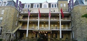 """The """"Haunted"""" Cresent Hotel"""