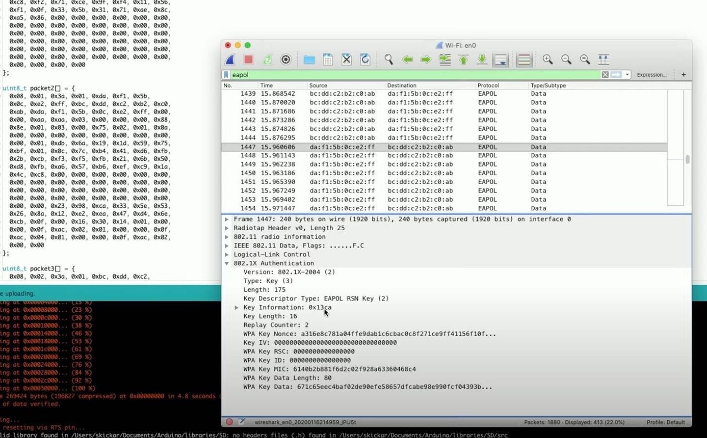 How to Generate Crackable Wi-Fi Handshakes with an ESP8266-Based Test Network