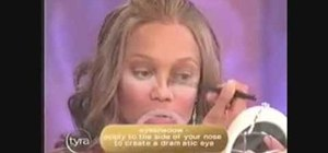 Apply makeup like Tyra Banks