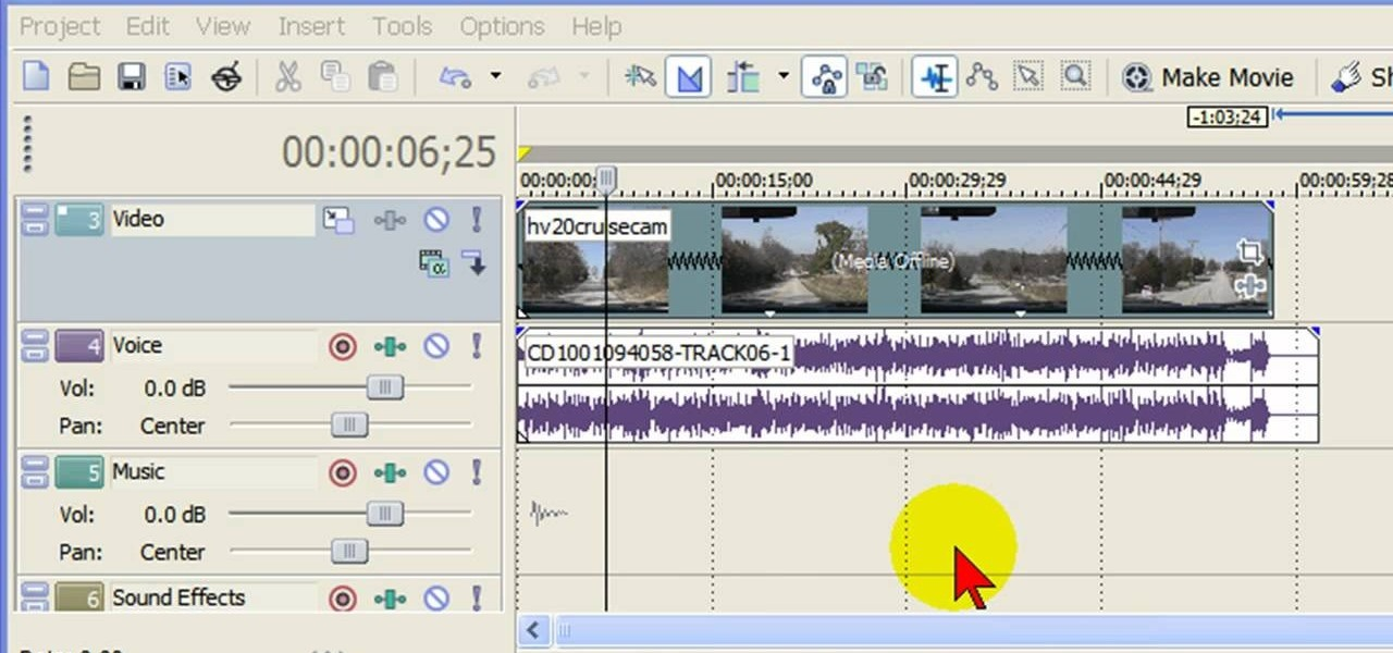 Audio remover software