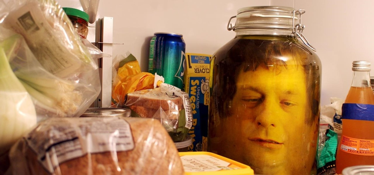 Pull the Decapitated Shrunken Head in a Jar Prank