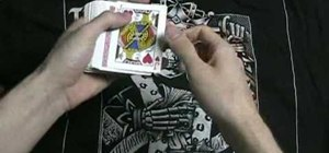 Perform the Pass for card tricks