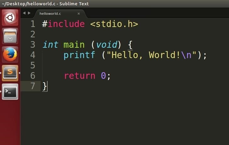 After Writing This Up, Save It As Helloworld.c (or Whatever You Wish With  The .c Extension, But Keep In Mind You Will Have To Replace Each Instance  Of My ...