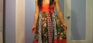 Alter a maxi dress