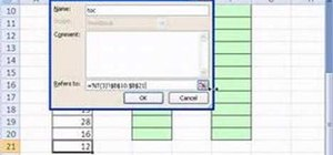 Use names in formulas and functions in Microsoft Excel