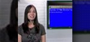 Customize the command prompt on a Microsoft Windows 7 PC