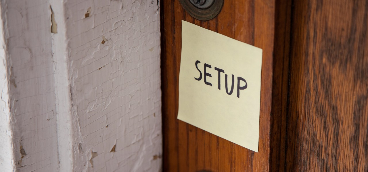 Hack Your Neighbor with a Post-It Note, Part 2 (Setting Up the Attack)