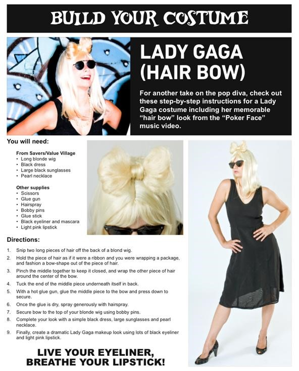 HowTo: DIY Lady Gaga Hair Bow