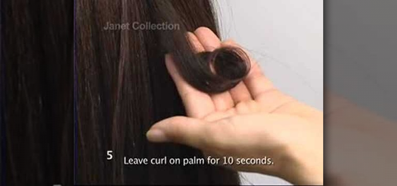 How To Curl Synthetic Hair Extensions Hairstyling Wonderhowto