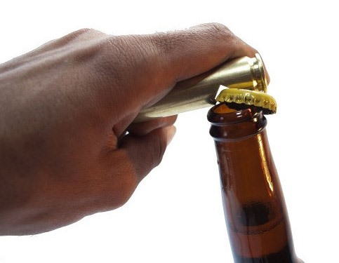 How to Make a Killer Bottle Opener from a .50 Caliber Bullet