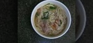 Make beef noodle soup