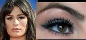 Create Lea Michele's 2010 Emmys makeup look