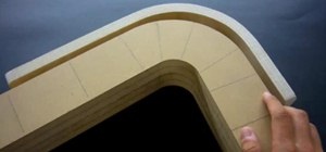 Bend Plywood Strips with Glue and Clamps for a Curved Look