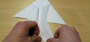 Origami a sailfish