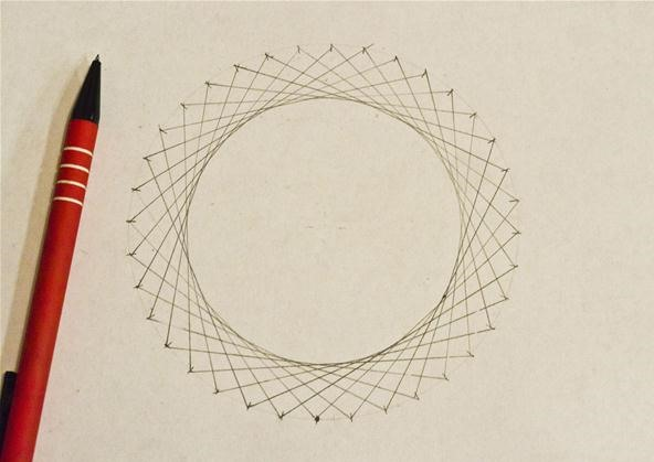 Line Design Art Math : How to create concentric circles ellipses cardioids