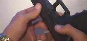 Field strip a GLOCK 22 .40 caliber pistol