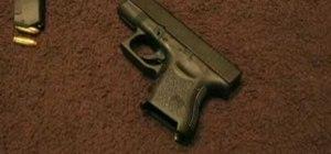 Field strip a Glock 26 pistol