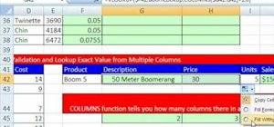 Use VLOOKUP function formulas in Microsoft Excel