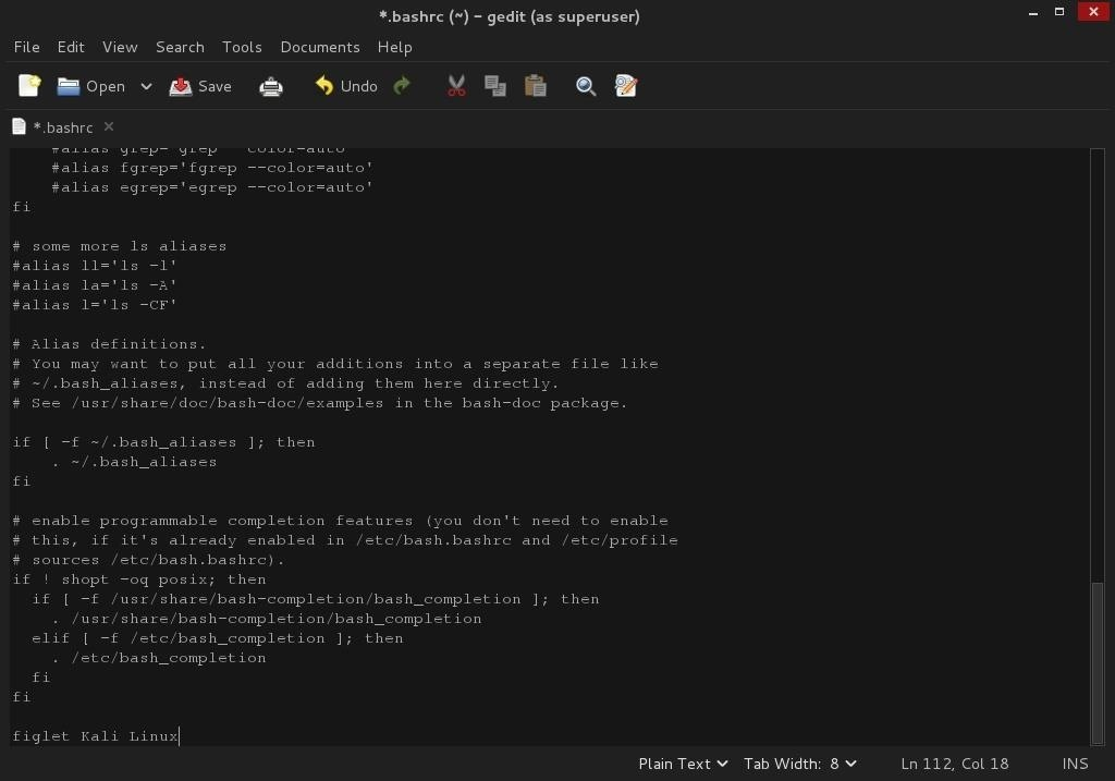 how to install figlet in kali linux