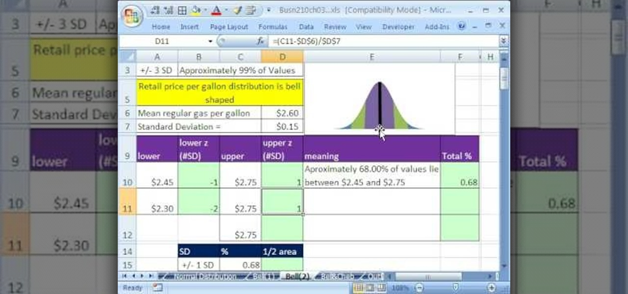 bell curve excel 2010 template - how to make a bell curve chart in excel 2013 how to work