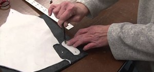 Make a leather or canvas snap fastener extender