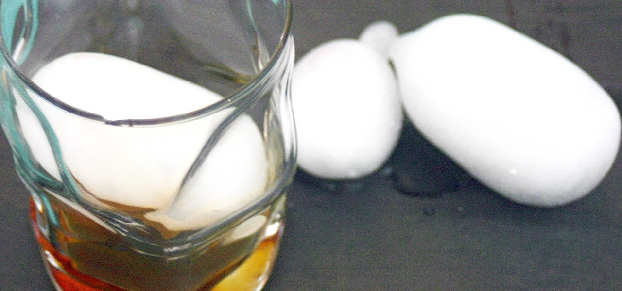 Make Whiskey Ball Ice Without a Mold