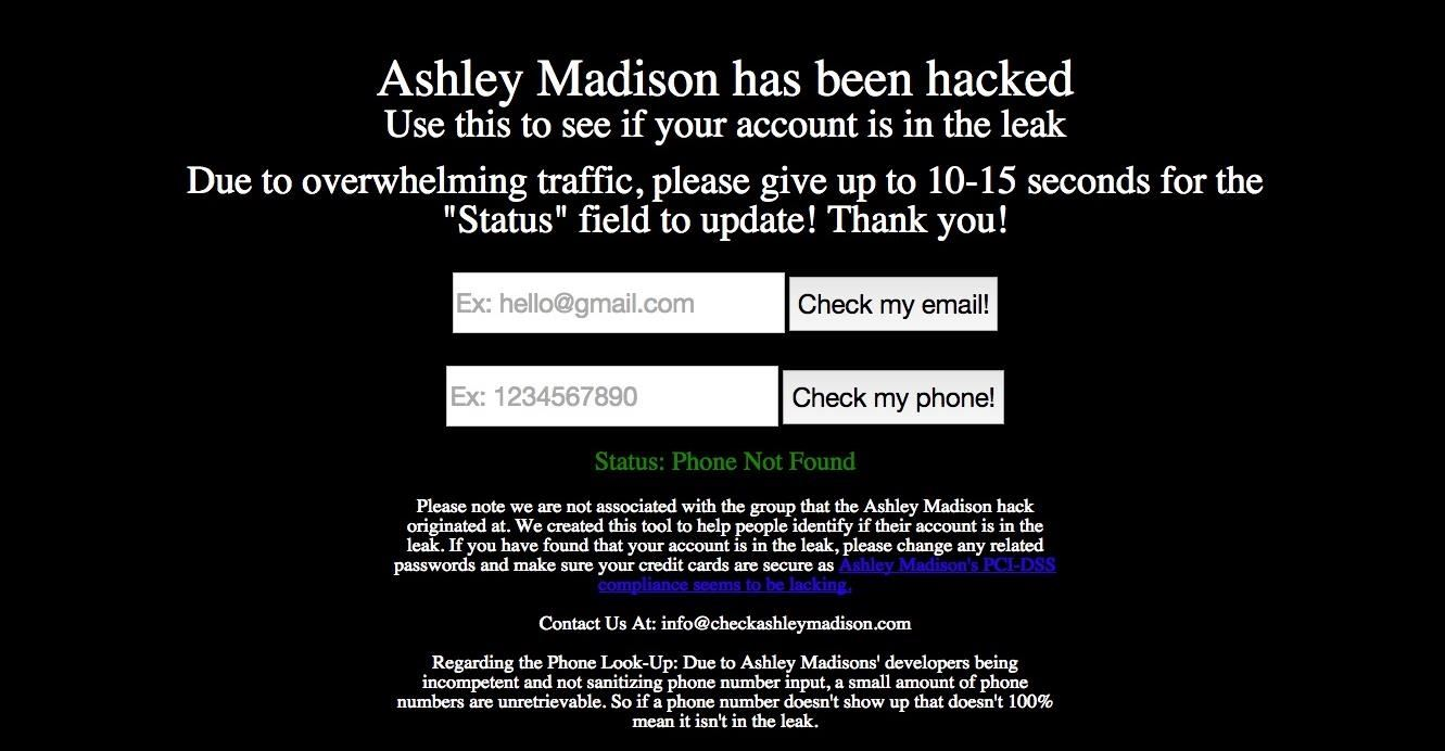 How to Check if Your Significant Other Used Ashley Madison to Cheat on You
