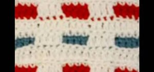 Do a crochet stitch A pattern for summer