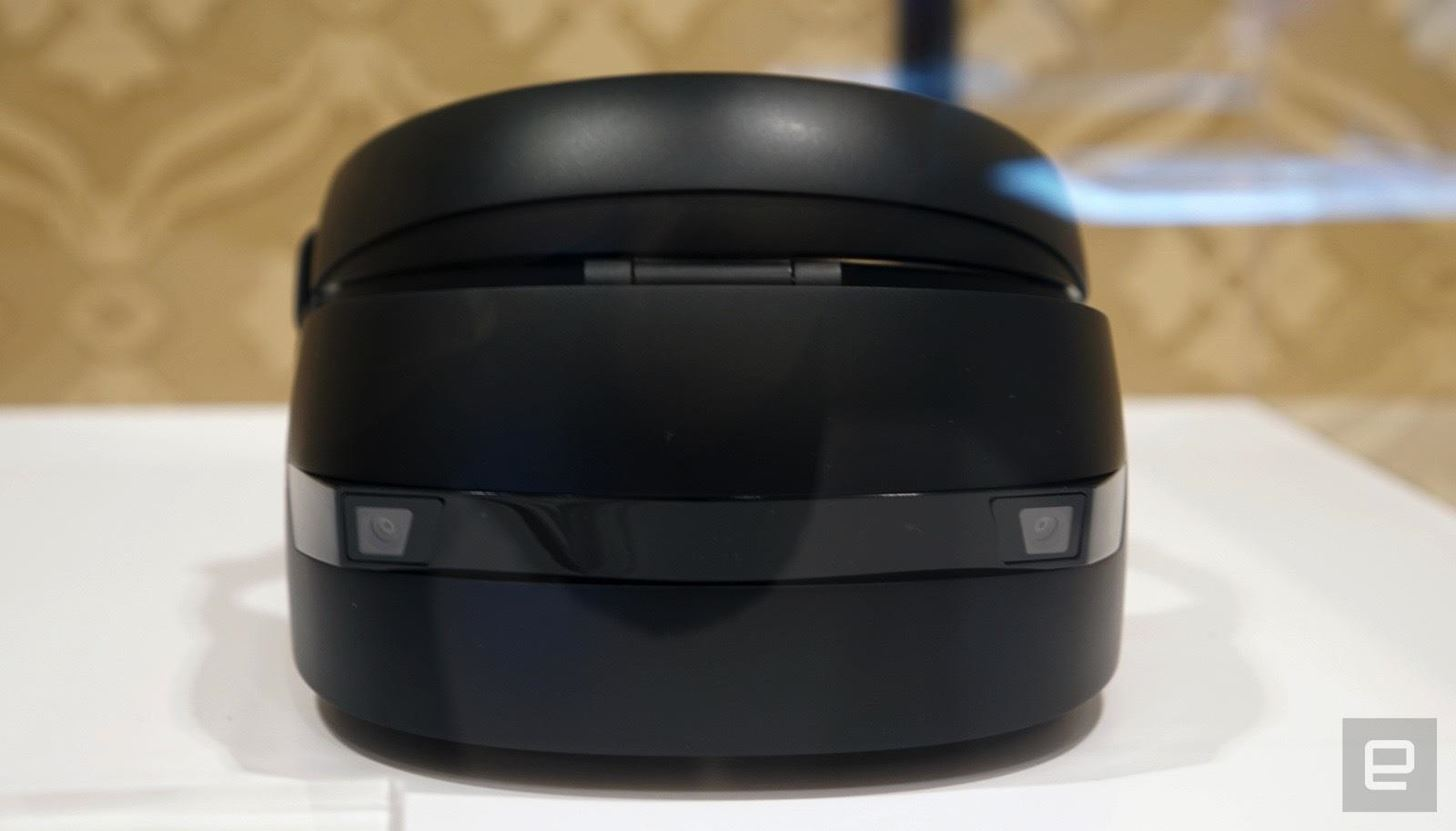 Five Windows Holographic Mixed Reality Headsets Have Now Been Seen, but Most Have Not Been Touched