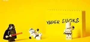 LEGO Make your own story - Star Wars Advertising Campaign