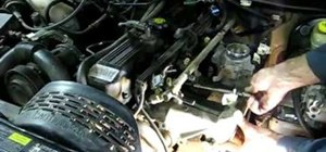 Replace the exhaust manifold in a Jeep Cherokee