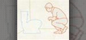 Replace a broken toilet flange