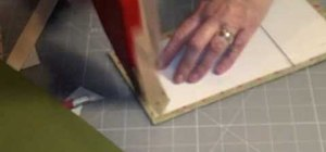 Make your own photo album with a paper bag