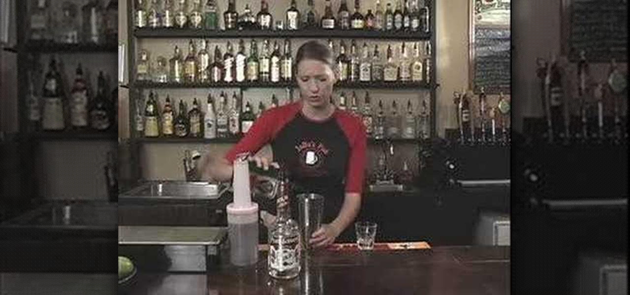 Slutty redhead drink