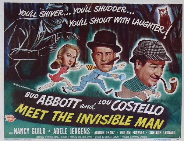 Abbott & Costello Meet The Invisible Man