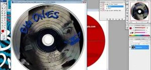 Make a CD cover in Photoshop