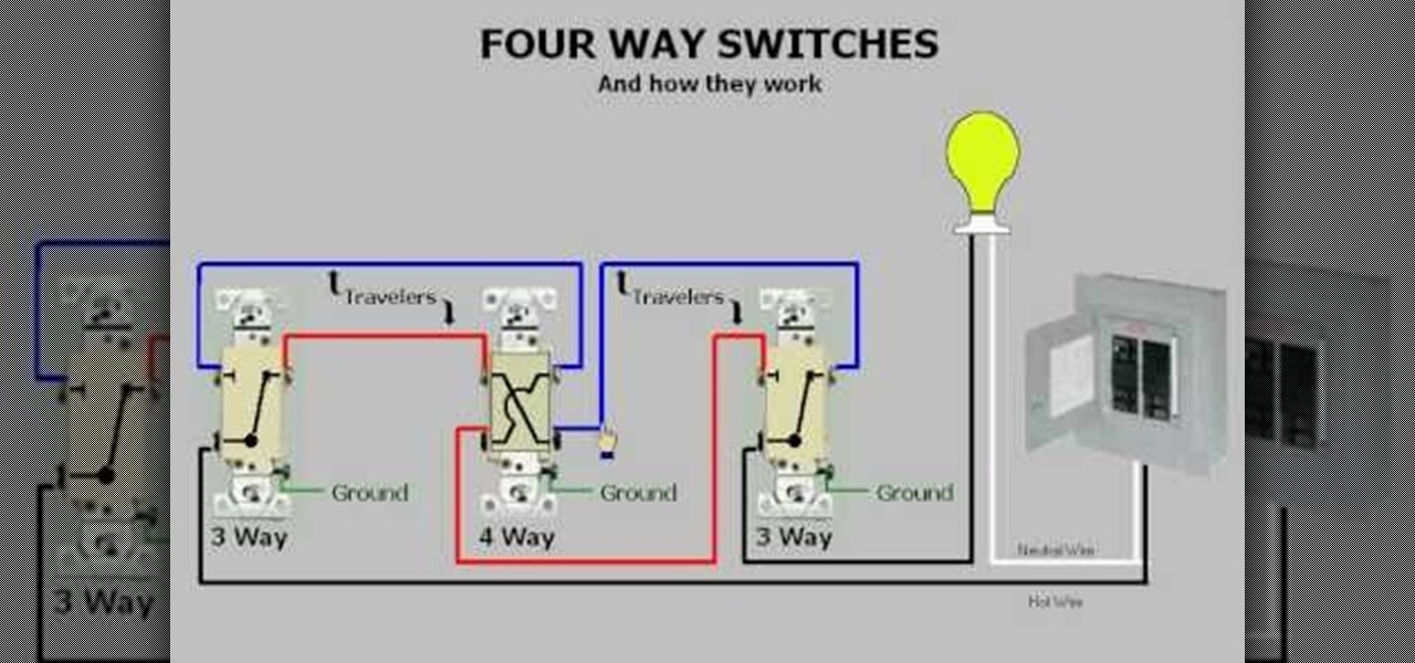 3 Way Light Wiring Multiple