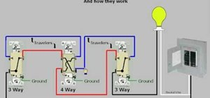 Use four way switches easily at home