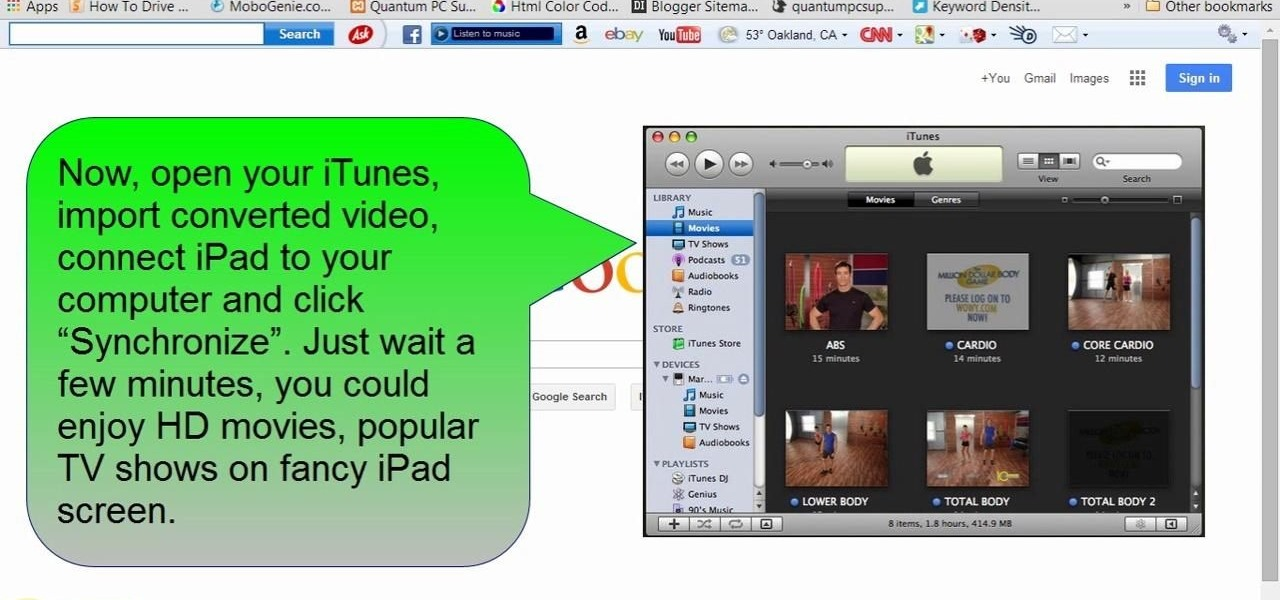 Convert Movies, TV Shows and Other Videos to iPad MP4